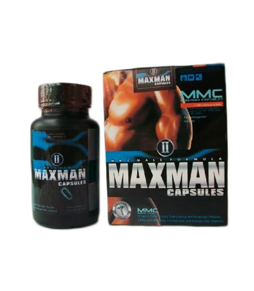 Maxmann-II-Capsules-Male-Enhancement